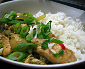 Chicken Ginger Stir-Fry
