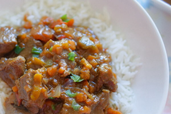 Beef Curry Stew