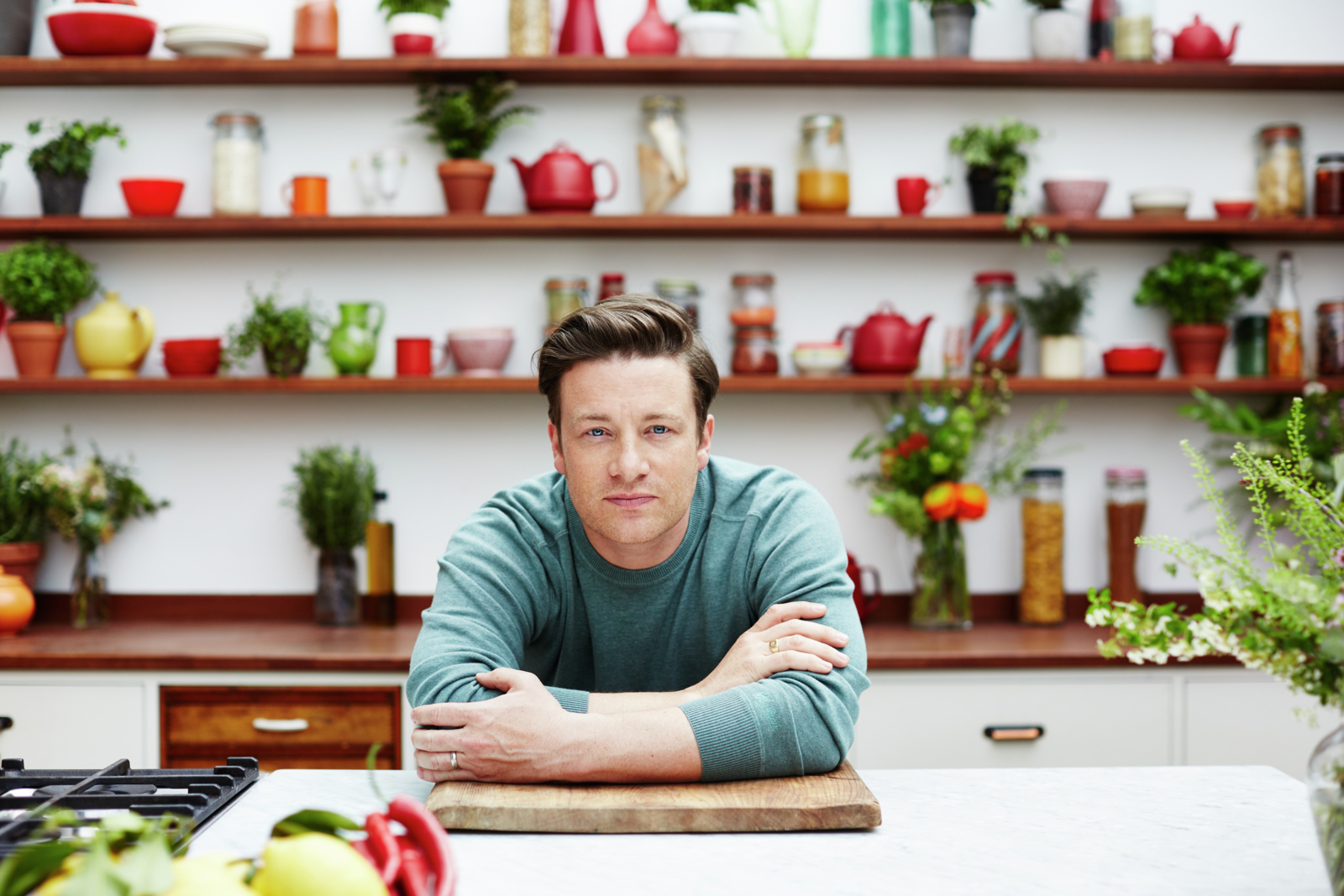 "The ""Food Revolution Day"" is almost here and Waje, Chef Eros & British Chef Jamie Oliver have something cooking."