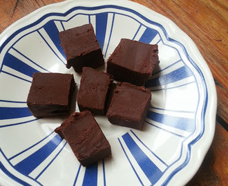 Recept: chocolade fudge