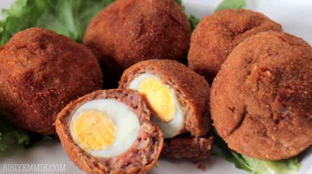 SUYA  SCOTCH EGG RECIPE!