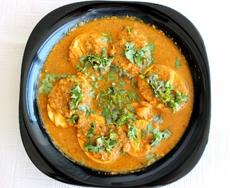 Goan Style Egg curry (Coconut based gravy)