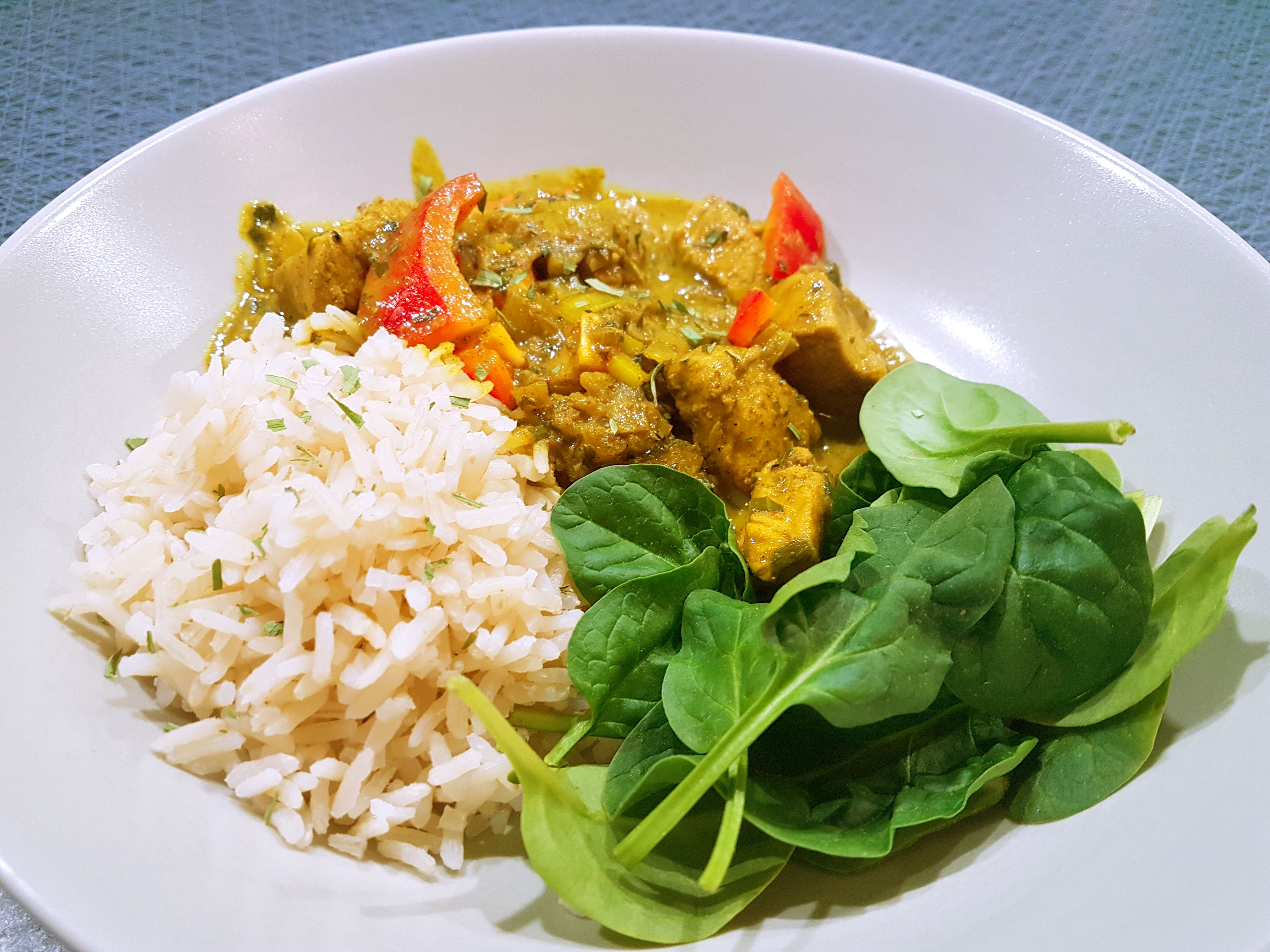 Kyckling med curry | Candida-dieten