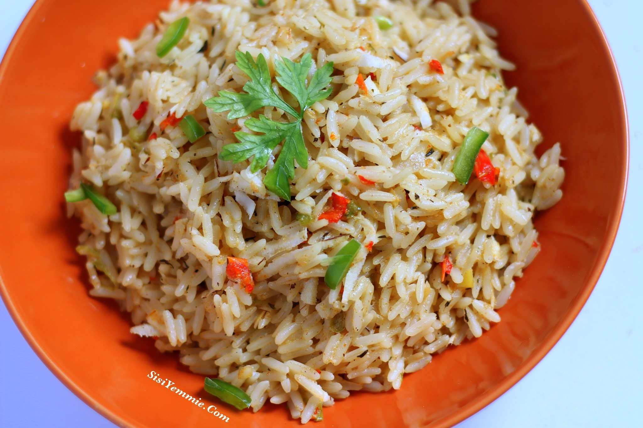 NIGERIAN COCONUT RICE RECIPE