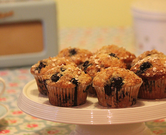 Low Fat Blueberry & Banana Muffins by Lisa