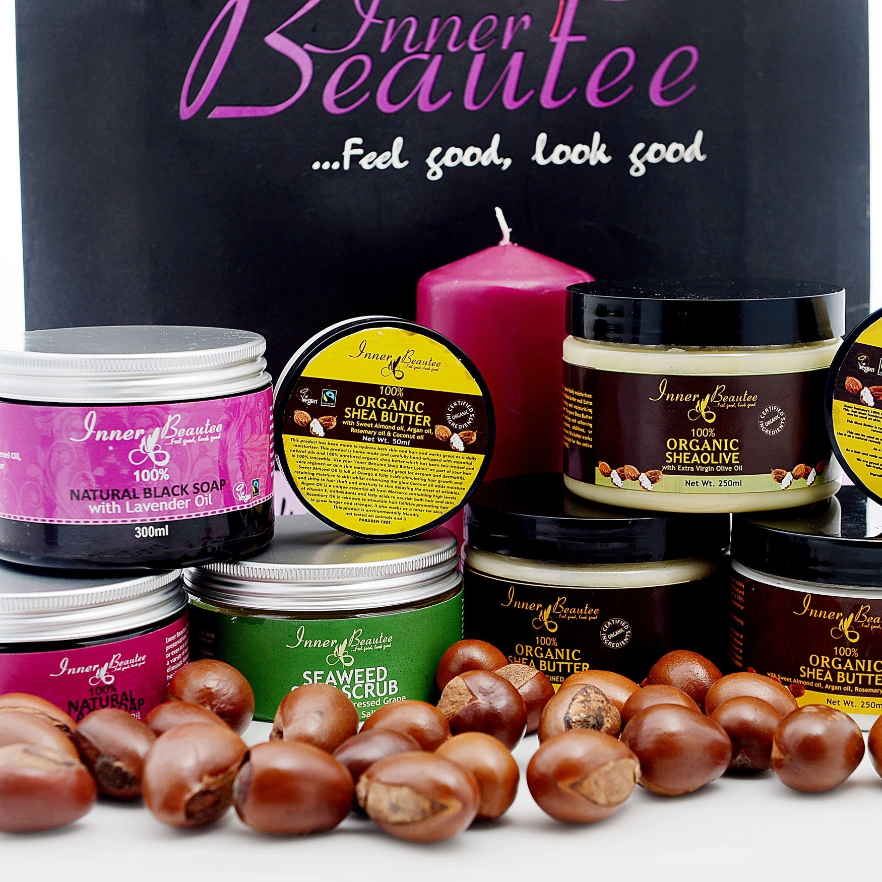 IF YOU WANT NATURAL HAIR & SKINCARE PRODUCTS IN LAGOS, TRY INNER BEAUTEE