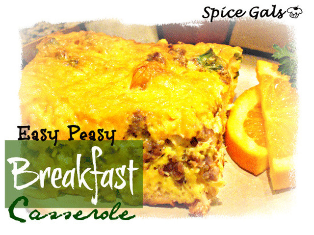 Easy Peasy Breakfast Casserole
