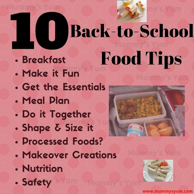 Back-To-School Food Tips