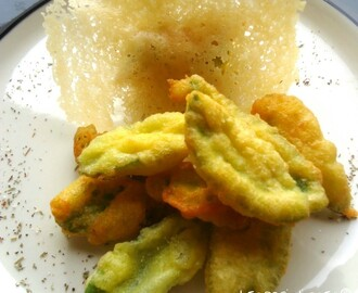Salvia in tempura al parmigiano – finger food goloso