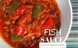 Mackerel fish sauce