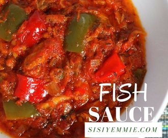 MACKEREL FISH SAUCE RECIPE