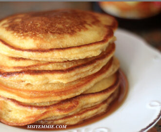 FLUFFY PANCAKE RECIPE!