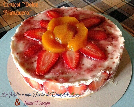 Cheesecake yogurt e frutta