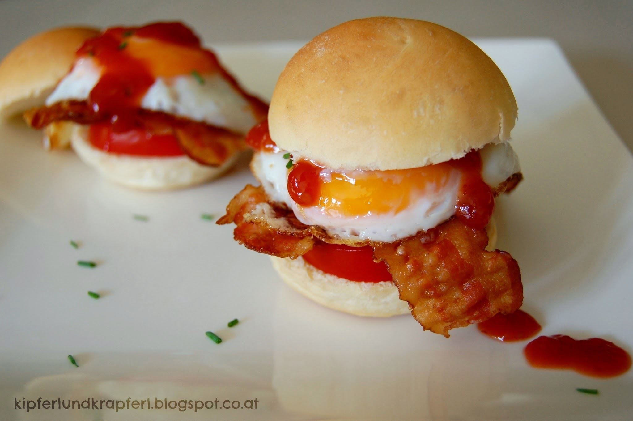 Mini-Breakfast Burger