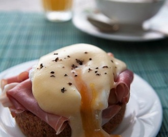Eggs Benedict – Valentines breakfast guest recipe by Matt Follas
