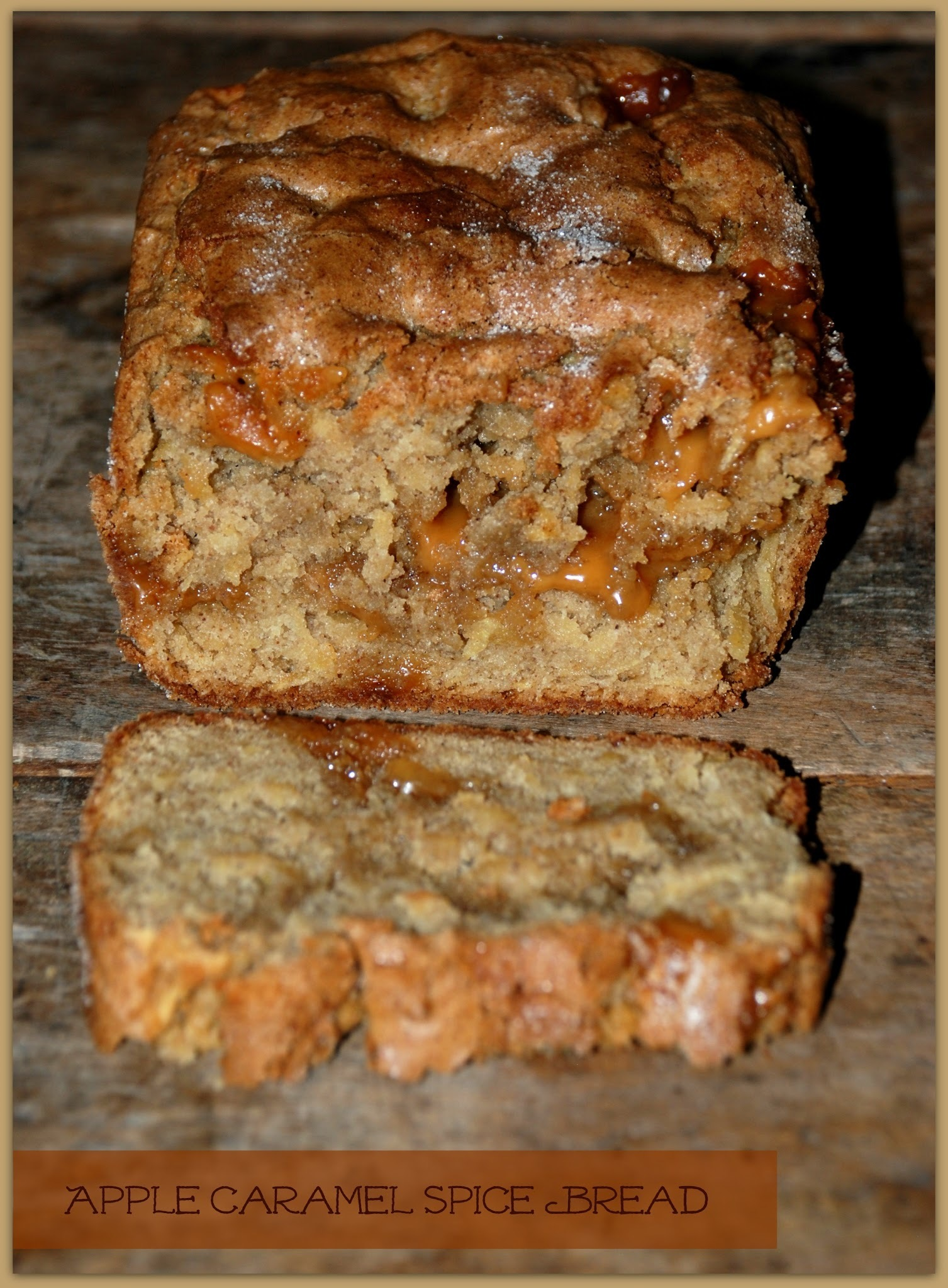 Apple Caramel Spice Bread