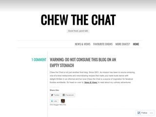Chew the Chat