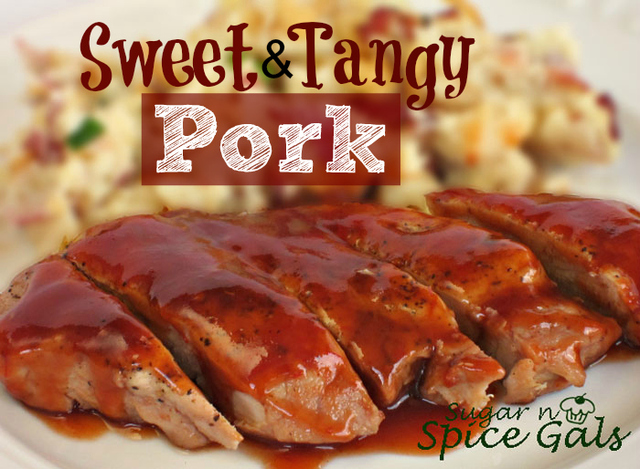 Sweet and Tangy Pork Chops