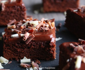 Recept | Brownies met Roomkaas Glazuur