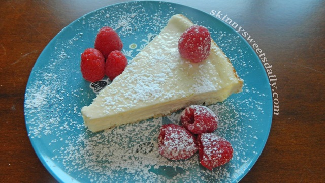 Best New York Cheesecake (Lower fat and calories too!)
