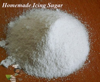 How to Make Icing Sugar (Homemade Icing Sugar)