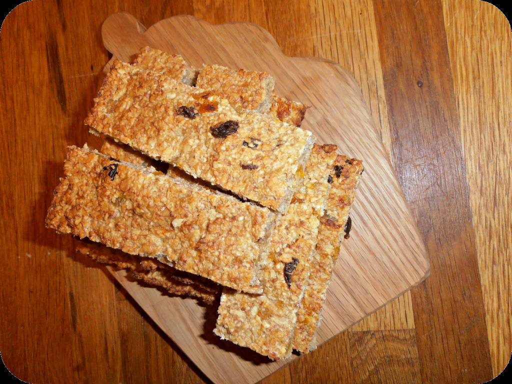 My Low Sugar 'Pack a Punch' Toddler Flapjack Bars