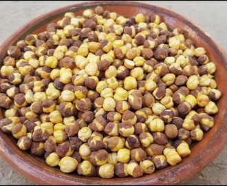 Roasted Kala Chana In Salt Without Oven At Home | Bhunay Hauay Chanay | Village Food Secrets
