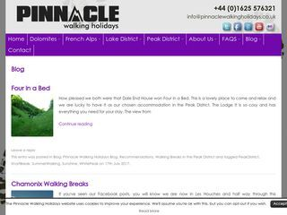 Pinnacle Walking Holidays