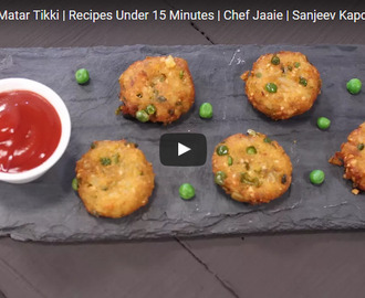 Poha Aloo Matar Tikki Recipe Video