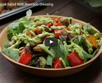 Roasted Vegetable Salad Recipe Video