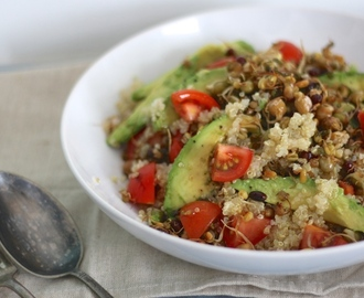 Super Skinny: Quinoa-salade met sprouty