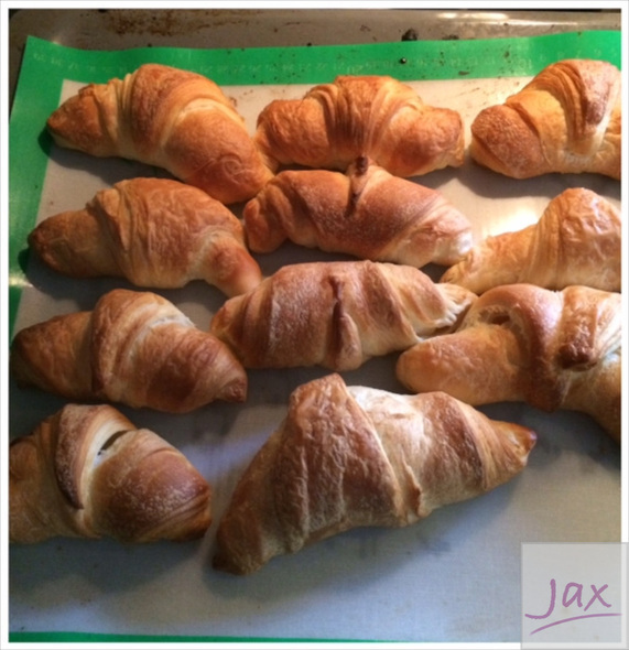 Roombotercroissants - Thermomixrecept