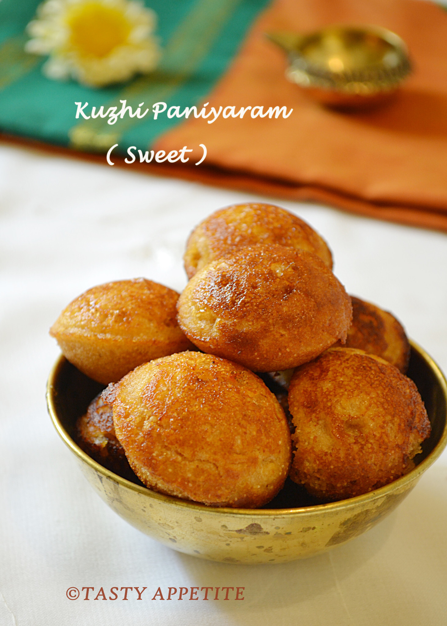 How to make Kuzhi Paniyaram / Hot & Sweet Version / South Indian Style Recipe / Taking a short break !