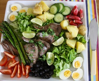 Seared Tuna Niçoise Platter