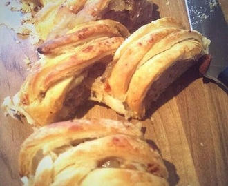 Recipe: Sausage & Caramelised Onion Plait
