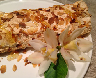 Seville Orange and Almond Roulade