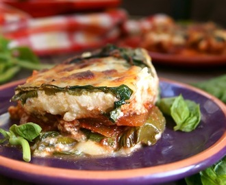 Swiss Chard Vegetarian Lasagna Recipe – It's  Not What You'd Think