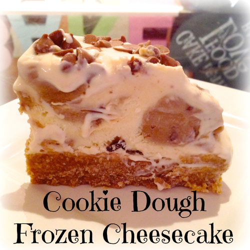 Cookie Dough Frozen Cheesecake