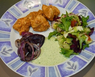 Smoky Chicken Tikka with Kachumber Salad