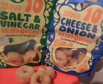 Tesco Weirdoughs savoury doughnuts review
