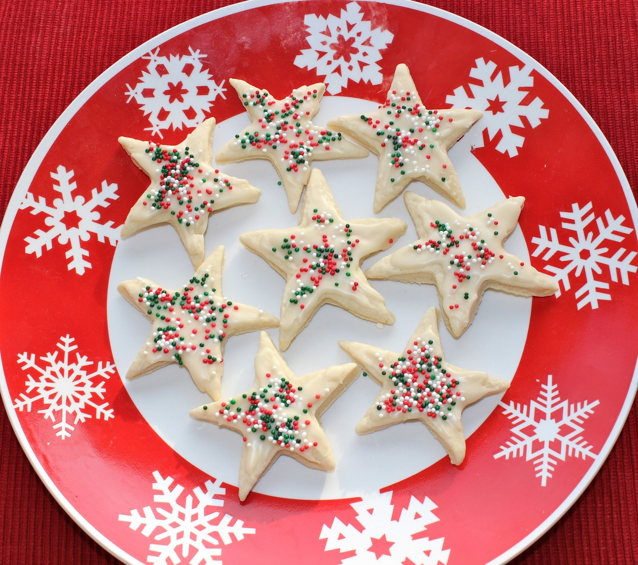 Healthier Cut-Out Sugar Cookies With Icing