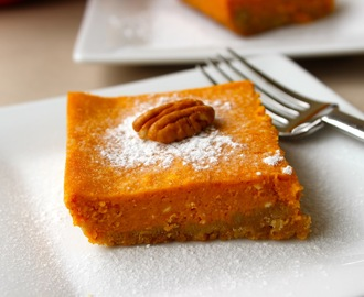 Low Fat Gooey Pumpkin Cake