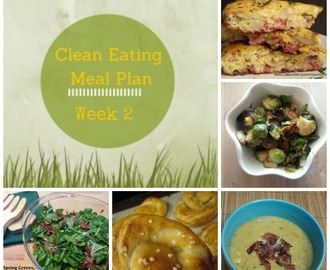 Clean Eating Meal Plan Feb 17-23