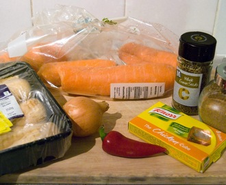 Recipe Wk 06 Spiced parsnip & Carrot soup