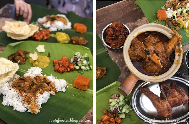 Restaurant Aunty Manju's: Banana Leaf Rice in TTDI