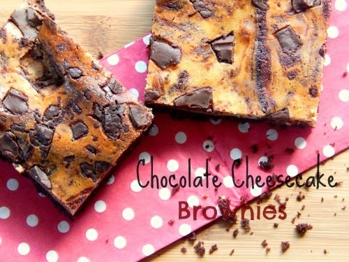 Chocolate Cheesecake Brownies - ABC Mission completed !