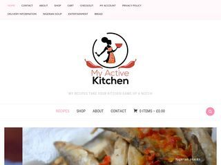 My Active Kitchen Nigerian food blog