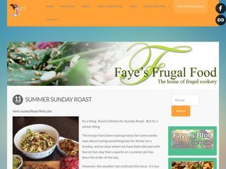 Faye's Frugal Food Blog
