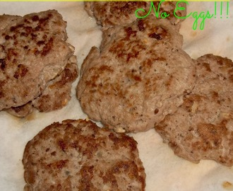 Meal Idea Mondays: Turkey Patties