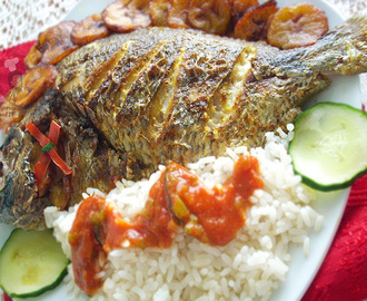 Nigerian Grilled Fish Recipe